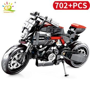 "Конструктор HUIQIBAO ""Мотоцикл"" 2"