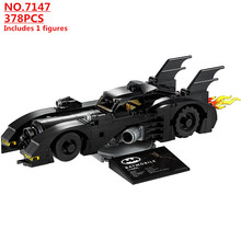 Super Hero DC Batman 1989 Batmobil Limited Edition Technik Bausteine Kit Ziegel Film Modell Kinder Spielzeug Für Kinder geschenk(China)
