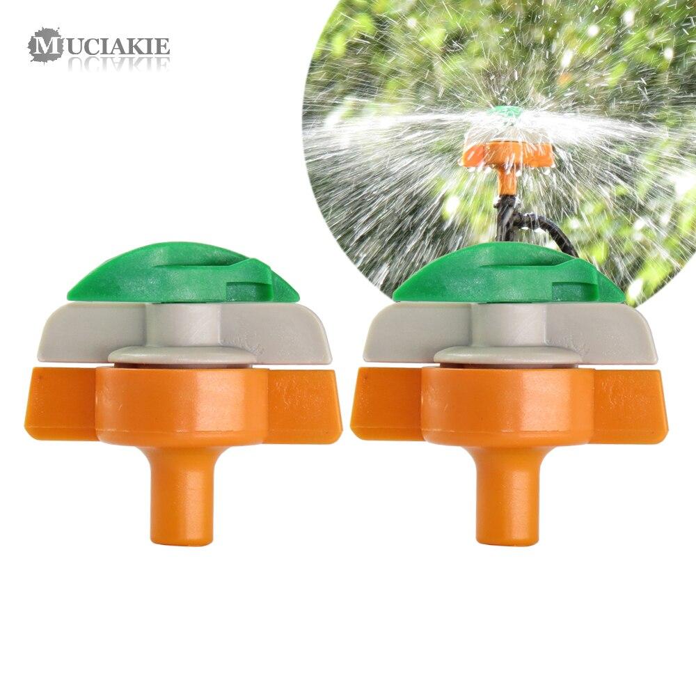 10X Greenhouse Sprinkler G Microsprinkler Micro Wheel Lawn Irrigation Garden