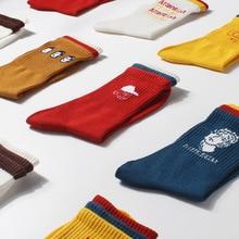 5pair/lot Autumn/Winter New Womens Socks Creative Cotton christmas socks