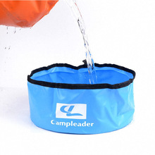 5L Ultra-light Portable Foldable Bucket Hiking Camping Washbasin Water Storage Container Outdoor Survival Tool Camping Equipment