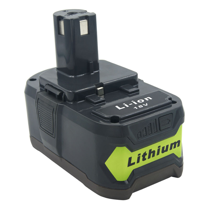 18V 6.0 Ah for Ryobi RB18L50 ONE+ Lithium-Ion Battery P108 RB18L40 RB18L25 RB18L15 P107 P122 P104 P105 with LED Indicator