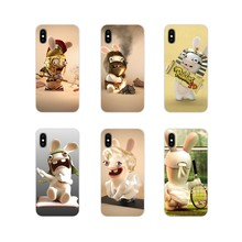 Phone Shell Case Case Lapin Cretin Rayman Raving Rabbids For Samsung A10 A30 A40 A50 A60 A70 Galaxy S2 Note 2 3 Grand Core Prime(China)