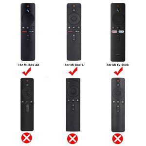 Image 5 - SIKAI Silikon Fernbedienung Fall Für Xiaomi Mi Box S TV Stick Fernbedienung Fall Weiche Plain Klappschlüssel Schutz Abdeckung