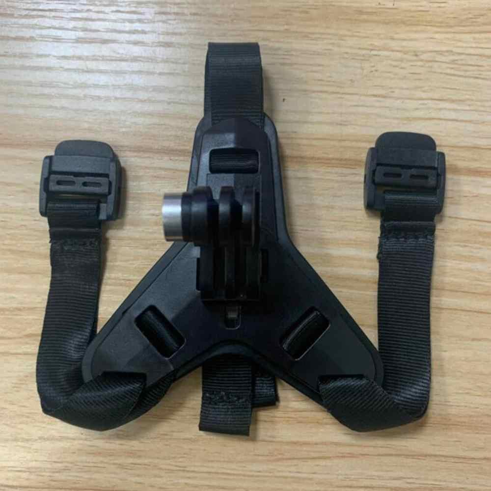 1PC kask fullface podbródek uchwyt do Gopro Hero 5 6 8 Pro motocykl Hero kamera na kask akcesoria