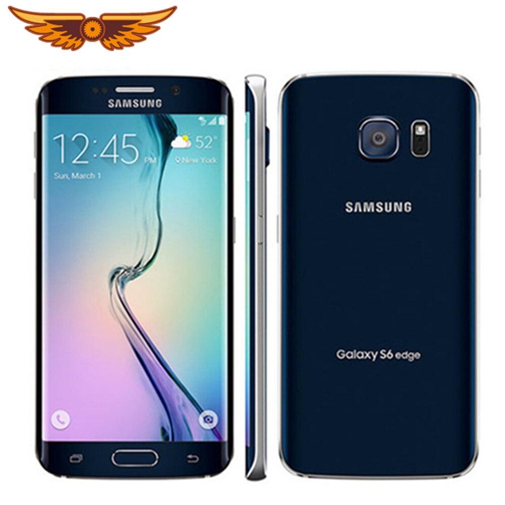 Оригинальный разблокированный сотовый телефон Samsung Galaxy S6 G925F/S6 G920V/S6 G920F/S6 Edge с восьмиядерным процессором, 5,1 дюйма, 16 МП, 3 ГБ ОЗУ, LTE, NFC, Android