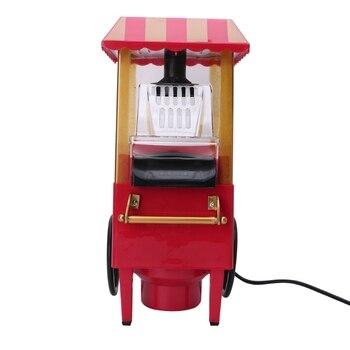 220 فولت مفيدة خمر ريترو الكهربائية صانعة الفشار آلة المنزل أداة حفلة ، الاتحاد الأوروبي التوصيل