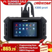 Obdstar X300 Pro4 Pro 4 Pad Immo Systeem Met Fca 12 + 8 Universele Adapter/Multi Functionele Jumper kabel/Voor R Enault Adapter