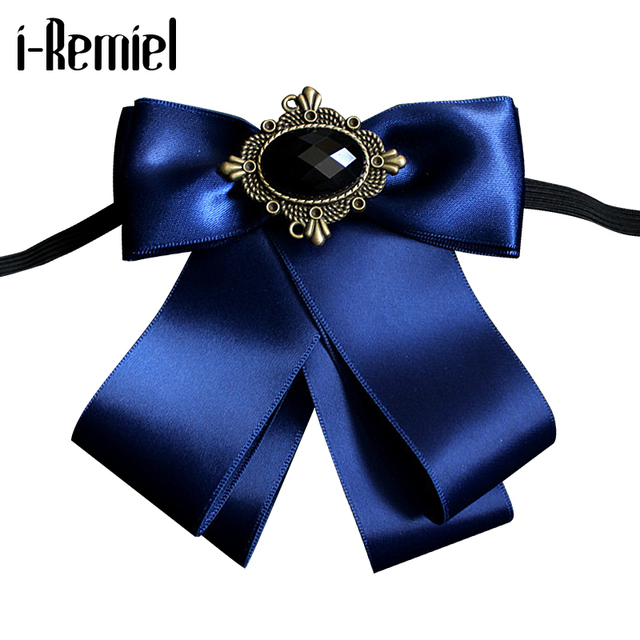 i-Remiel Bow Brooch Velvet Cameo Pins And Brooches Harajuku Wedding Dress Broche Mariage Femme Kawaii Jewelry Broches Ladies Men