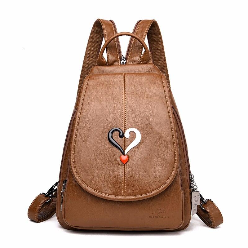 2019 Women Backpacks For Girls Sac A Dos Female Backpacks High Quality Large Capacity Travel Bagpack Ladies School Bags Preppy