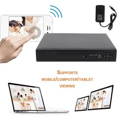 8 Channels HD 1080P 5 In 1 DVR Video Recorder 1TB Hard Disk Home Security Surveillance Digital Video Recorder HDMI Output