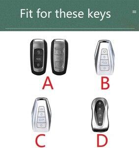 Image 5 - Couro caso chave do carro capa para geely coolray atlas boyue nl3 emgrand x7 ex7 suv gt gc9 borui