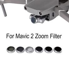 Дрон фильтры для DJI Mavic 2 ZooM UV CPL ND4 ND8 ND16 ND32 Gimbal Camera фильтры для объектива Фильтры Запчасти Аксессуары