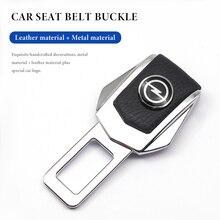 Car Safety Buckle Clasp Insert Plug Clip Car Seat Belt Card Buckle For Opel Astra H G J Insignia Mokka Zafira Corsa Vectra C D