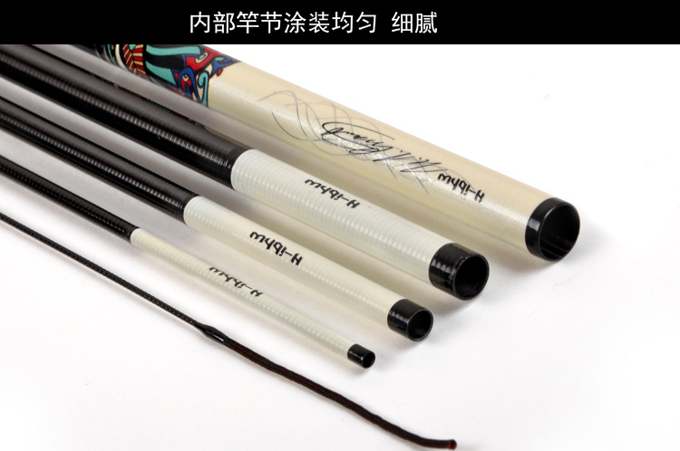 3.6-6.3 m ultra-leve ultra-fino duro taiwan vara