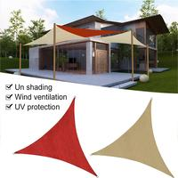 Outdoor Sports Camping Awning Portable Shelter Sunshade Tent Waterproof Folding Triangle UV Protection Shade Sail Patio Garden