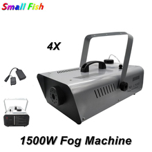 New 1500W Fog Machine Stage Smoke Professional Fogger Dj Equipments Christmas Decorations For Home Party Lights