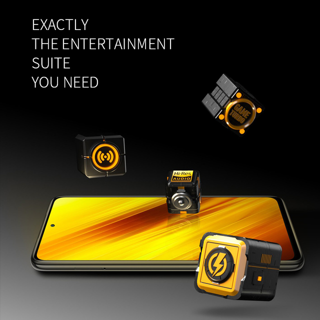 "POCO X3 6GB+64GB Xiaomi Smartphone Snapdragon 732G Octa Core 6.67"" Pocophone with 64MP Quad Camera FHD+ Display120Hz 5160mAh 5"