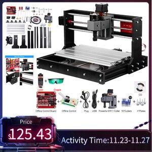 Image 1 - לייזר חרט CNC לייזר חרט CNC לייזר חותך חריטת מכונת לייזר מדפסת DIY 3 ציר Pcb מכונת כרסום