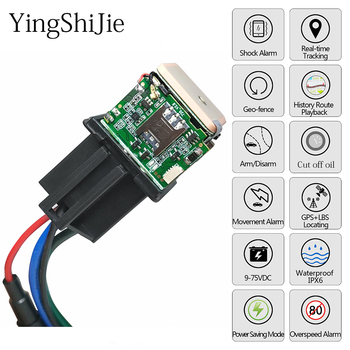 Better Tracking car Relay GPS Tracker Device GSM Locator Remote Control Anti-theft Monitoring Cut off oil power System End Lk720