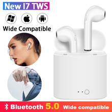 i7s TWS Wireless Bluetooth 5.0 Earphones In Ear Stereo Earbuds Sport Headset with Mic Binaural call For Xiaomi iPhone All Phones