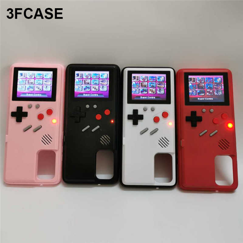 Game Boy S20 Plus Case untuk Samsung Galaxy S20 Ultra Case Penuh Warna Catatan 10 Plus Cover S10 Coque untuk Samsung s10 Plus Funda Case