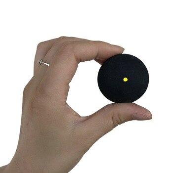 цена на 2pcs/lot Squash Ball  One Dot  Blue Red Yellow Low Slow Speed Sports Rubber Softball Professional Player Tournament  Ball 4mm