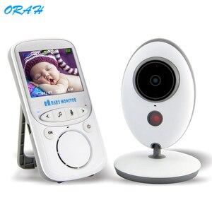 VB605 беспроводной цветной видеоняня 2-полосная аудио-камера ночного видения наблюдения 2,4 дюйма Цветная камера безопасности няня