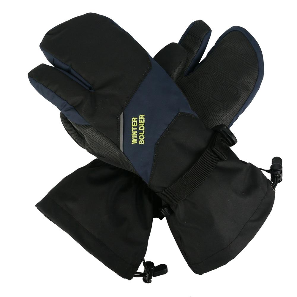 Men /& Women Winter Warm Gloves Windproof Waterproof Thermal Touch Screen Mittens