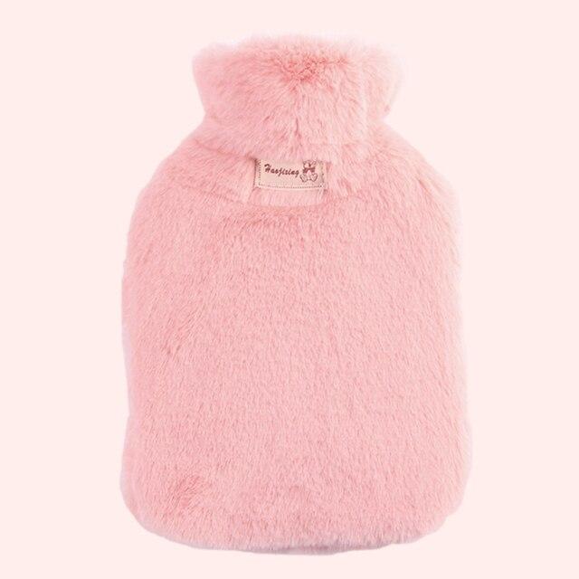 Фото 800 мл бутылка для горячей воды с плюшевой крышкой сумка классическая цена