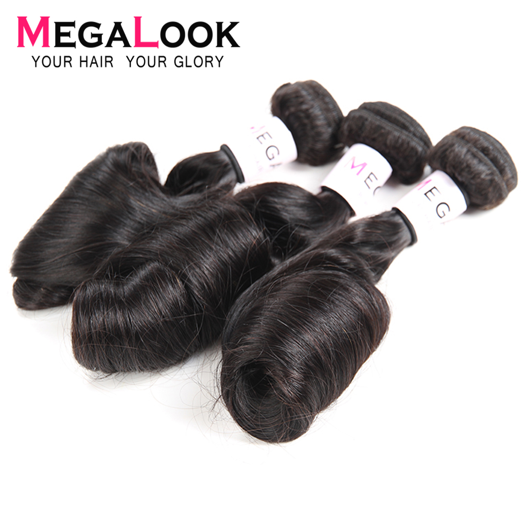Egg Curly Peruvian Hair Bundles With Closure 3 4 Bundles With Closure 30 Inch Bundles With Closure Remy Hair Megalook Natural