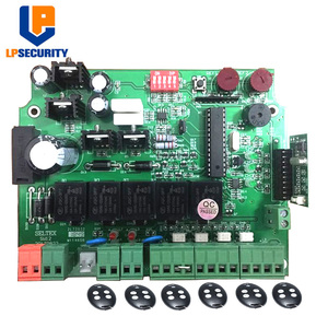 Image 1 - 12V Electronic card motherboard circuit board for Dual wing automatic swing gate opener motor 12VDC