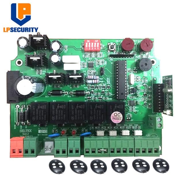 12V Elektronische Kaart Moederbord Printplaat Voor Dual Wing Automatische Draaipoort Opener Motor 12VDC