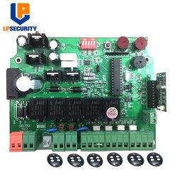 Płytka drukowana 12V DC/płyta sterowania panel automatycznego podwójnego ramienia urządzenie otwierające do bram skrzydłowych z pilotem w Czytniki kart kontrolnych od Bezpieczeństwo i ochrona na