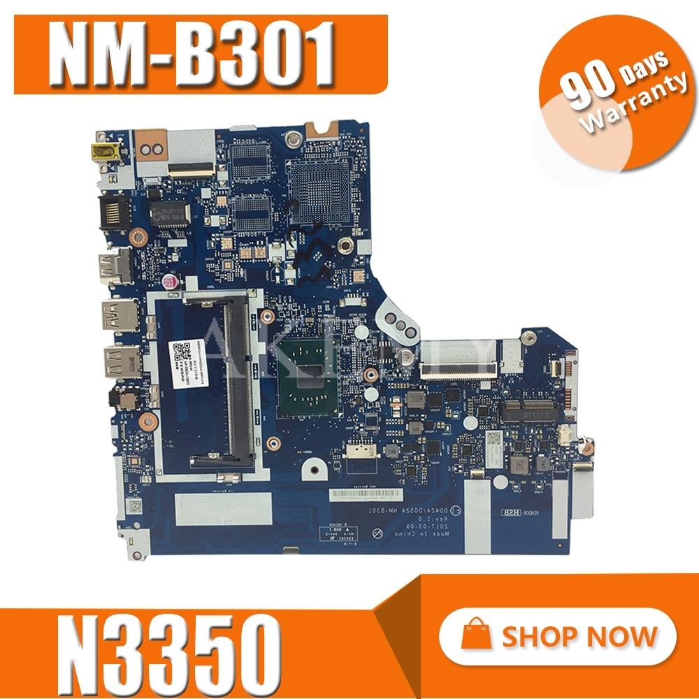 NM-B301 for Lenovo Ideapad 320-15IAP Laptop motherboard DDR3L 5B20P20644 N3350 CPU 100% Tested original work