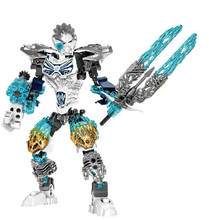 BIONICLE 131pcs Kopaka Ice figures Building Block Bricks Kids toys