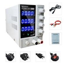 Fonte de alimentação ajustável 4 digitsl regulador de tensão dc 12 volts 30v 10a interruptor de alimentação laboratório alimentação com usb 5v 2a