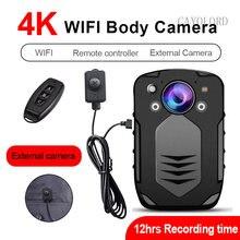 4k 2k 42mp 2160p 1296p 4000mah wifi камера для тела полицейская