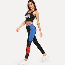Женские леггинсы для фитнеса в стиле ins облегающие эластичные