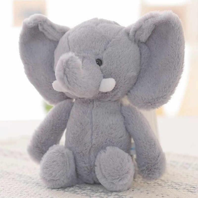 20 センチメートル象ぬいぐるみ人形最新のベビーキッド少年少女かわいい動物ソフトぬいぐるみミニ象ぬいぐるみ動物人形ギフト