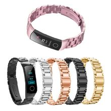 Metal Watch Band For Huawei Honor 4 Strap Steel Wristband Wrist Stainless Bracelet Replace