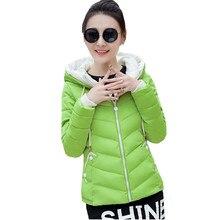 Winter Jacket Women Plus Size Short Womens Parkas Thicken Ou