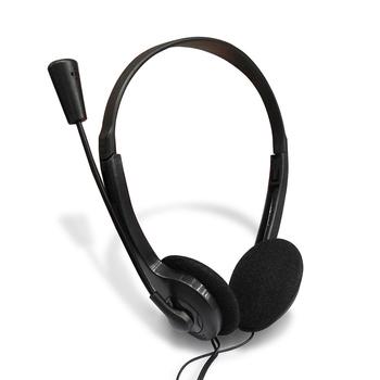 Czarny przewodowy zestaw słuchawkowy do obsługi klienta mikrofon HD Stereo Surround Super niska muzyka Gamer słuchawki obsługa klienta słuchawki tanie i dobre opinie centechia Zestaw słuchawkowy z mikrofonem Mikrofon pojemnościowy Mikrofon komputerowy Zestawy z wieloma mikrofonami CN (pochodzenie)