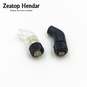 Image 1 - 1 par xlr fone de ouvido pino plug adaptador diy para jh áudio jh24 roxanne 24 iriver ak r03 akr02 um pp6 conector