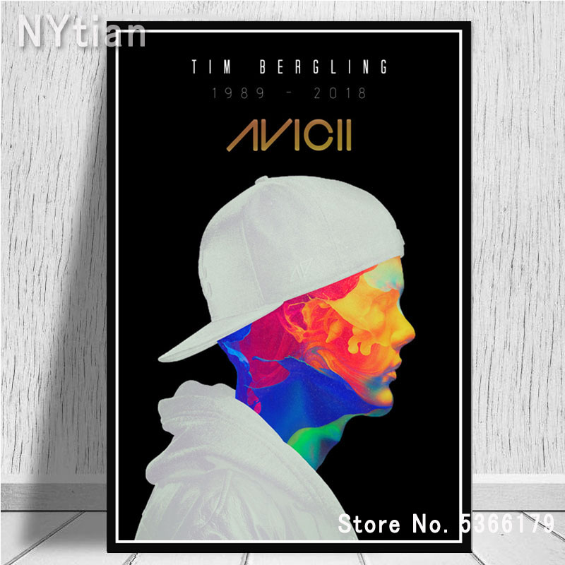 AVICII MUSIC POSTER DJ LEGEND IMAGE PRINT PICTURE GIANT HUGE CLUBBING