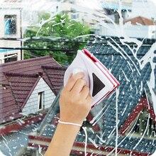 Escova magnética para lavar janelas wizard limpador de vidro do lado dobro da janela magnética útil única vitrificação lavagem/limpeza