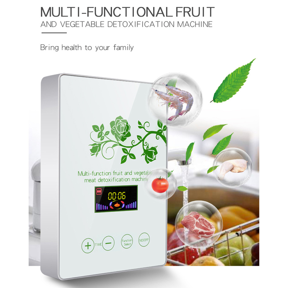 Multifunctional Fruit And Vegetable Meat Detoxification Machine Ozone Generator Machine Fruit And Active Oxygen Air Purifier