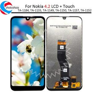 Image 1 - 5.71 노키아 4.2 LCD 디스플레이 TA 1184 TA 1133 TA 1149 TA 1150, TA 1157 터치 스크린 디지타이저 어셈블리 노키아 4.2 lcd