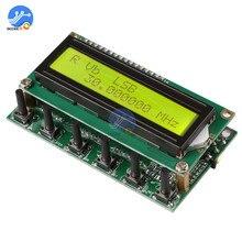AD9850 6 диапазонов частот 0~ 55 МГц DDS генератор сигналов цифровой HAM Радио RIT VFO SSB частота накидка тестер с желтым экраном