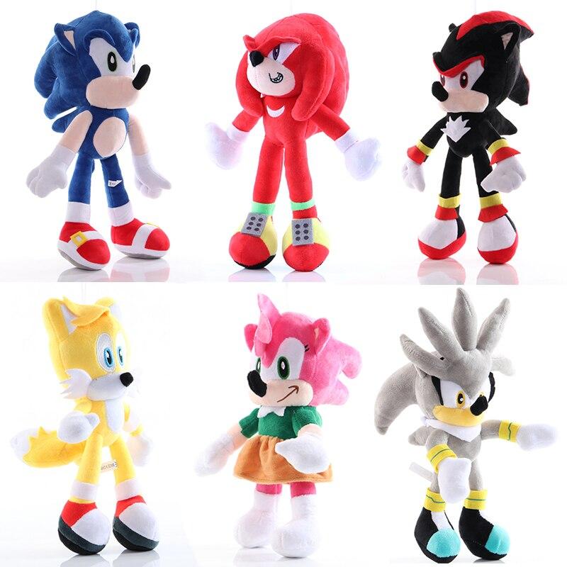 Rare Sonic The Hedgehog Plush Toys Lot Super Sonic Werehog Form Amy Rose Ebay